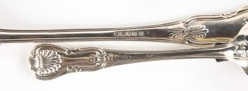 Paul Storr (1770-1844) Sterling Silver Table Spoons & Stuffing Spoons