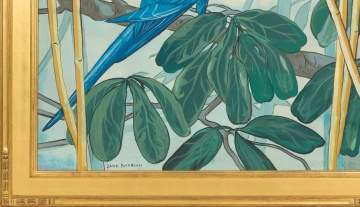 "Jane Peterson (American, 1876-1965) ""Parrot"""