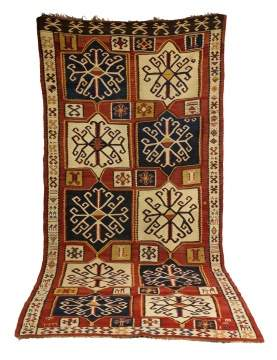 Antique Kilm Oriental Runner