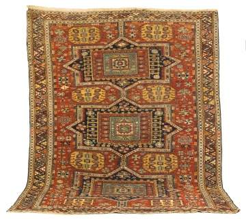 Antique Soumak Rug