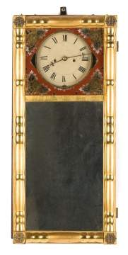 Striking New Hampshire Mirror Clock