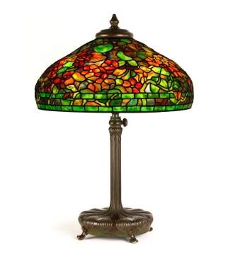 Tiffany Studios, New York, 'Nasturtium' Table Lamp