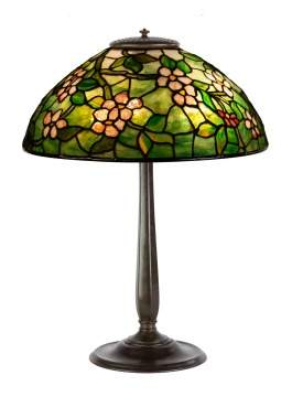 Tiffany Studios, NY 'Apple Blossom' Table Lamp