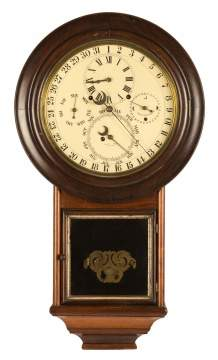 D. J. Gale's Astronomical Calendar Wall Clock