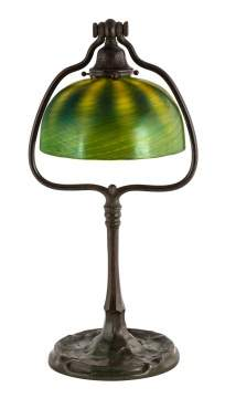 Tiffany Studios, NY Decorated Table Lamp