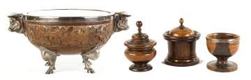 A Collection of 19th Century Treen