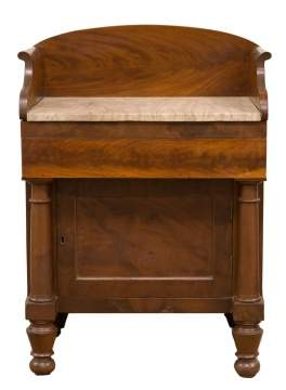 Commode Attr. J & J.W. Meeks, New York