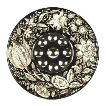 Piero Fornasetti (Italian, 1913-1988) Convex Optical Mirror