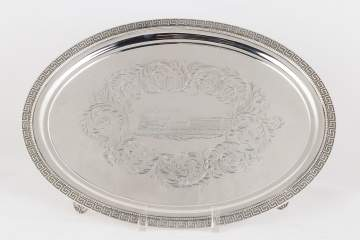 Tiffany Makers Sterling Silver Tray