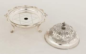 Early Tiffany Makers Sterling Silver Butter Dish