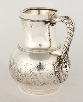Tiffany Makers Sterling Silver Water Pitcher