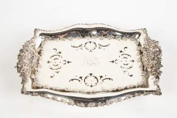 Tiffany & Co. Sterling Silver Asparagus Dish and  Liner Tray