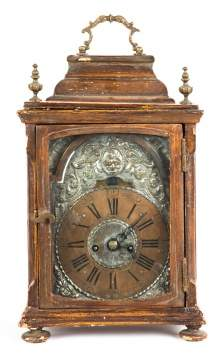 Early Continental Bracket Clock