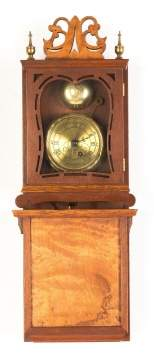 Miniature Reproduction Willard Shelf Clock