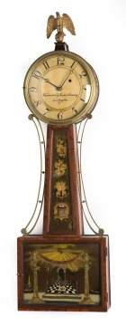 New England Banjo Clock