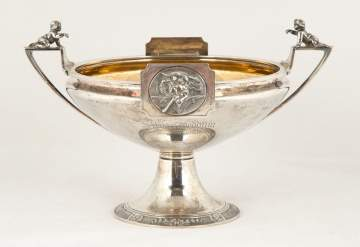 Gorham Coin Silver Footed Centerpiece