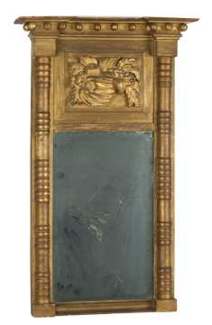 Giltwood Federal Mirror with Cornucopia