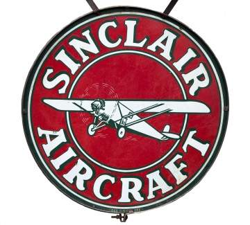 Sinclair Aircraft Aviation Sign