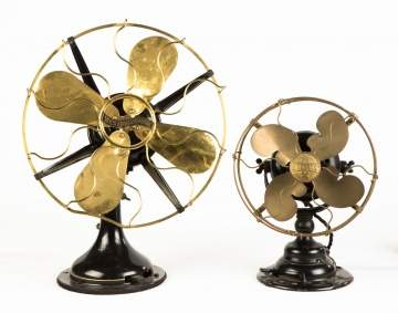 Iron and Brass Fans