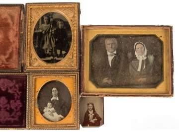 Four Early Photographic Items