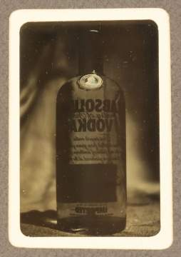 Daguerreotype of Bottle of Vodka
