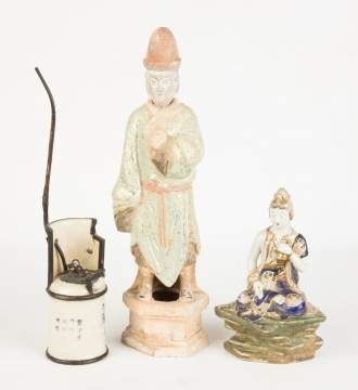 Asian Figures & Pipe