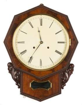 C.N. Jerome Ripple Front Wall Clock