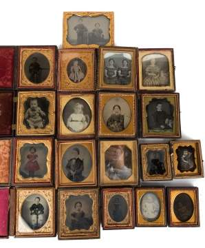 19 Daguerreotypes and Ambrotypes of Children