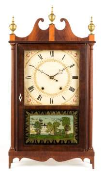 Eli Terry Pillar & Scroll Clock