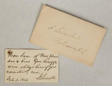 Abraham Lincoln Historical Documents