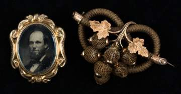 Victorian Mourning Brooches