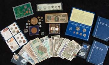 Various Continental Currency & Coinage