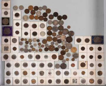 Group of Early American & Continental World  Currency