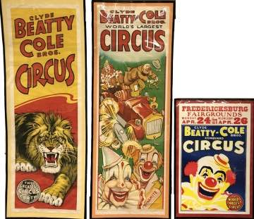 Group of Ringling Bros. and Barnum & Bailey Circus Posters