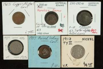 Group of Early Coins