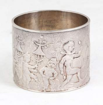Tiffany & Co. Sterling Silver Children's Napkin Ring