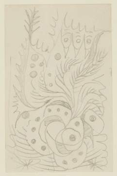 "Charles Burchfield (American, 1893–1967) ""Doodle"""