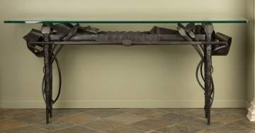 Albert Paley (American, b. 1944) Outstanding & Unusual Console Table