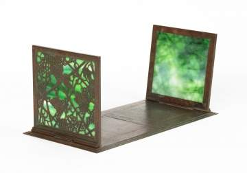 Tiffany Studios, New York, Grapevine Bookends