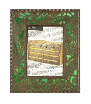 Tiffany Studios, New York, Grapevine Picture Frame