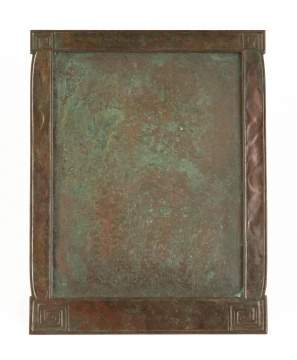 Tiffany Studios, New York, Modeled Patterned Picture Frame