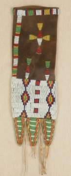 Native American Beaded Pipe Bag