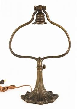 Tiffany Studios , New York, Adjustable Lamp Base