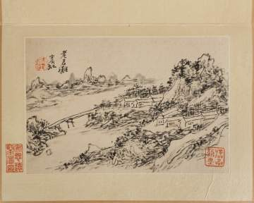 Attributed to Huang Binhong (Chinese, 1865-1955) Album