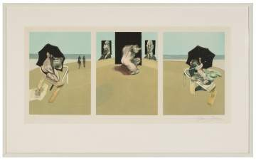Francis Bacon (British, 1909-1992) Triptych