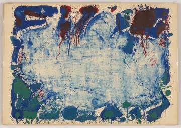 "Sam Francis (American, 1923-1994) ""Happy Death Stone"""