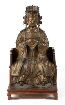 Taoist Immortal Ming Bronze