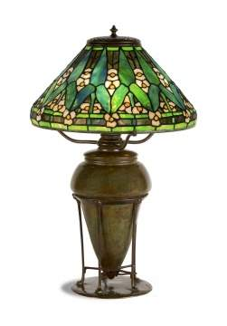 Tiffany Studios, New York, Arrowroot Table Lamp