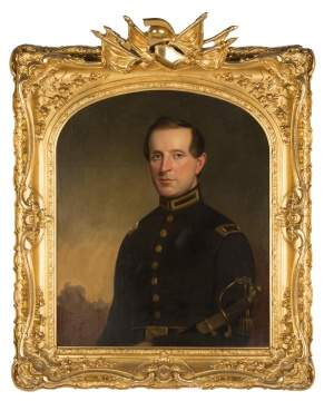 19th Century Portrait of a Civil War Lieutenant Peterson