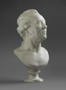 Jean Antoine Houdon (French, Versailles 1741–1828 Paris) Bust of Georges-Louis Leclerc, Comte de Buffon
